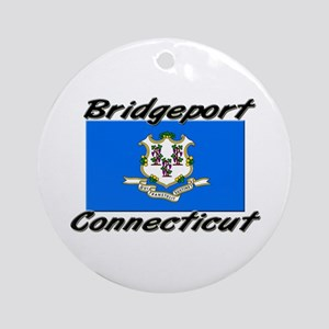 Bridgeport Connecticut Ornament (Round)