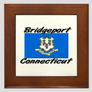 Bridgeport Connecticut Framed Tile