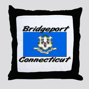 Bridgeport Connecticut Throw Pillow