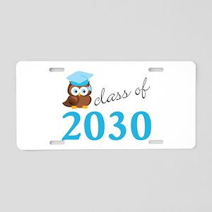 Class Of 2030 Owl Graduatio Aluminum License Plate