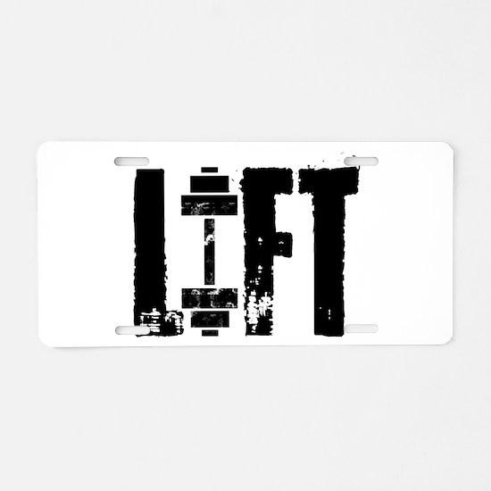 LIFT Aluminum License Plate