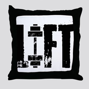 LIFT Throw Pillow
