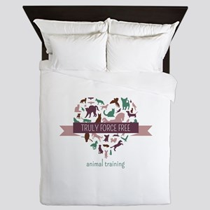 Truly Force Free Animal Training Queen Duvet