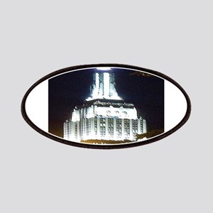Silver Empire State Building Patch