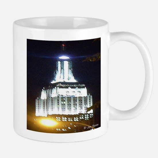 Silver Empire State Building Mugs