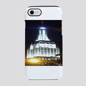 Silver Empire State Building iPhone 8/7 Tough Case