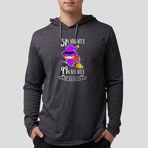 51 Percent Good Witch 49 Perce Long Sleeve T-Shirt
