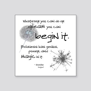 Begin It Sticker
