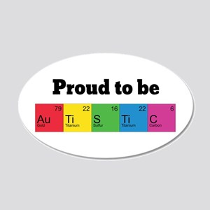 Proud to be Autistic Wall Sticker