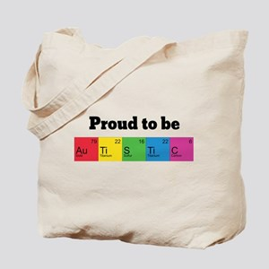 Proud to be Autistic Tote Bag