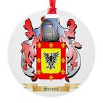 Sereys Round Ornament