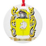 Serettini Round Ornament