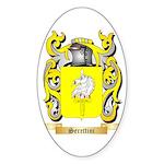 Serettini Sticker (Oval 50 pk)