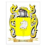 Serettini Small Poster