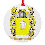 Seretti Round Ornament