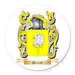 Seretti Round Car Magnet