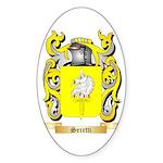 Seretti Sticker (Oval 10 pk)