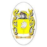 Seretti Sticker (Oval 50 pk)