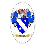 Sepulveda Sticker (Oval 50 pk)