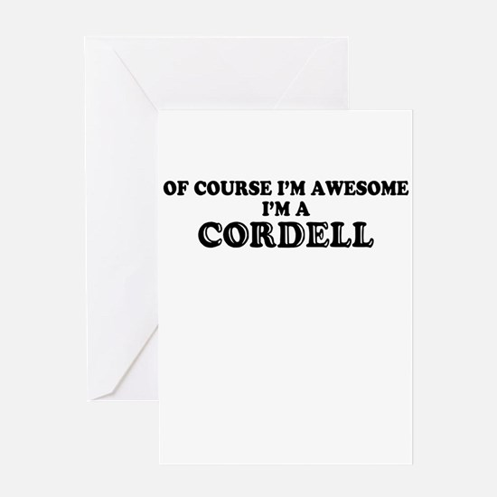 Of course I'm Awesome, Im CORBIN Greeting Cards