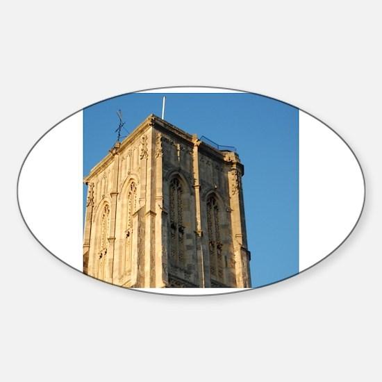 Funny Bristol uk Sticker (Oval)