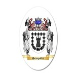Sempster 20x12 Oval Wall Decal