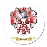 Sempill Round Car Magnet