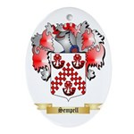 Sempell Oval Ornament