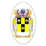 Semonin Sticker (Oval 10 pk)