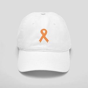 Peach Ribbon Cap