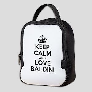Keep Calm and Love BALDINI Neoprene Lunch Bag