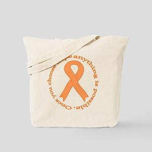 Peach Hope Tote Bag