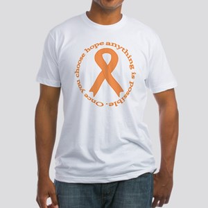 Peach Hope Fitted T-Shirt