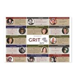 The Grit Project Postcards (package Of 8)