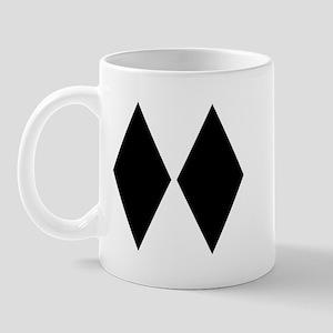 Double Diamond Ski Mug