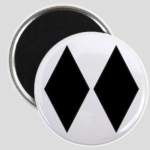 Double Diamond Ski Magnet