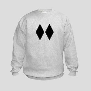 Double Diamond Ski Kids Sweatshirt