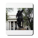Rough Rider Statue Mousepad