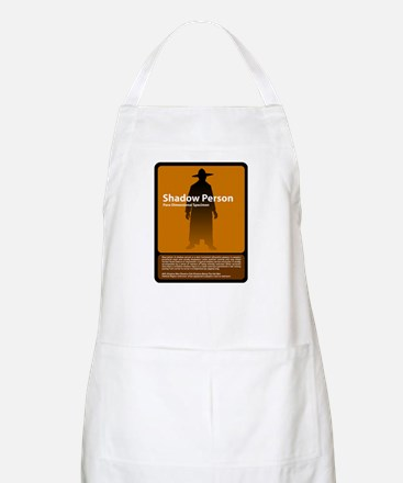 Shadow Person BBQ Apron