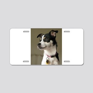 rattie 2 Aluminum License Plate