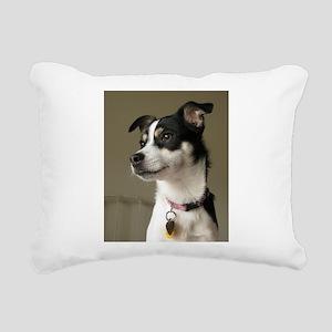 rattie 2 Rectangular Canvas Pillow