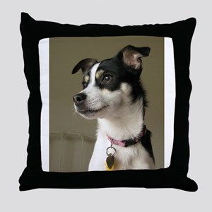 rattie 2 Throw Pillow