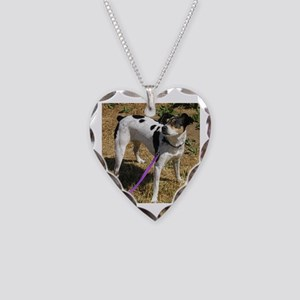 rat terrier full Necklace
