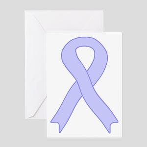 Periwinkle Ribbon Greeting Card