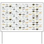 Florida Inshore Fishes Yard Sign