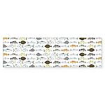 Florida Inshore Fishes Bumper Sticker