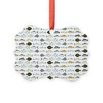 Florida Inshore Fishes Ornament