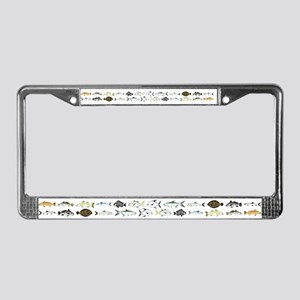 Florida Inshore Fishes License Plate Frame