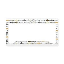 Florida Inshore Fishes License Plate Holder