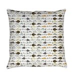 Florida Inshore Fishes Everyday Pillow